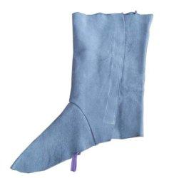 Schweißens-bereift lederne Fuss-Abdeckung schützende Schweißens-Knie-Abdeckung