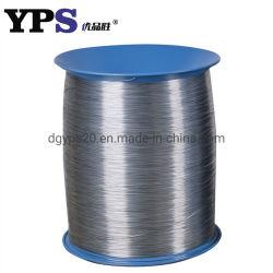 Acero galvanizado recubierto de Nylon doble bucle el cable o alambre de encuadernación