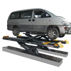 Конструкция с шарнирным механизмом и 4000кг Грузоподъемность в подъемный стол ножничного типа соединения на массу