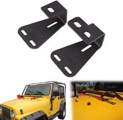 Cric de levage élevée de fixation de charnière de montage de support de capot pour Jeep Wrangler Cj Yj 1944-1986 / 1987-1995 / TJ 1997-2006