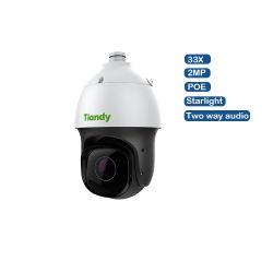 Telecamera TVCC PTZ ONVIF PTZ con zoom ottico 33X per esterni Telecamera di sicurezza impermeabile con inseguimento automatico da 2 MP 1080P Starlight IR PoE Face Acquisire la telecamera IP ai PTZ