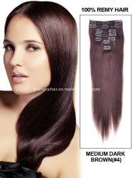 Um cabelo humano Virgem Extensão do Gancho da extensão de cabelo
