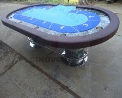 Nova tabela de póquer sólidos de madeira (Novo modelo-PT98)