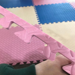 Fornecedores chineses 10mm tapete tatami impermeável Kids Play Room EVA Anti tapete antiderrapante