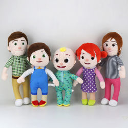 Venda a quente Cocomelon recheadas de animação de brinquedo Jj boneca recheadas de melancia em stock