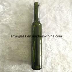 De in het groot Donkergroene Flessen van de Wijn van het Ijs van het Glas 375ml