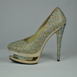 Lady High-Heeled Shoe D001