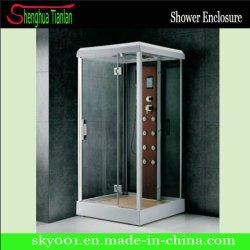 Badkamer met bad en douche met massagefunctie en laag ABS-plateau (TL-8853)