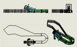 نظام الأغنام مع تصميم عملاء مقطورة HDP للبيع