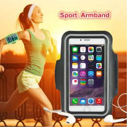 Het Lopende Geval van uitstekende kwaliteit van de Telefoon van de Armband van Sporten voor iPhone 6