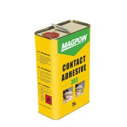 Adesivo a contatto Super Bonding ad alta viscosità colore giallo Colla di neoprene liquido Gum per mobili