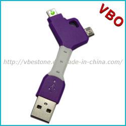 2 in 1 cavo di carico del Mobile di dati multifunzionali del USB