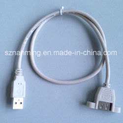USB 2.0 Af con tornillo a AM Cable