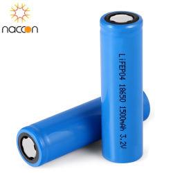 Ion 18650 van het lithium 3.7V Navulbare Batterij 1500mAh voor mobiele Macht