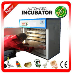 CE approuvé 264 oeufs bon marché d'oeufs de poulet incubateur automatique de la volaille