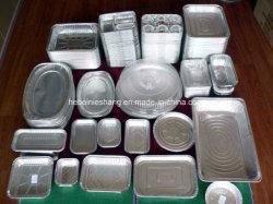 Conteneur d'aliments contenant des aliments d'aluminium de cuisine