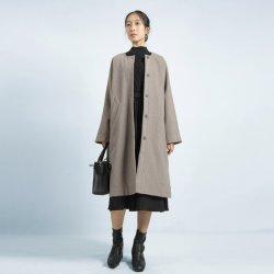 Nuovo cappotto delle lane di Adies del rivestimento di modo delle signore di disegno delle donne