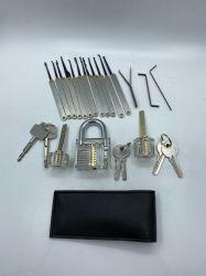 Selezionamento della serratura dello strumento di pratica Yh9269 impostato per gli strumenti del fabbro dello Smith della serratura
