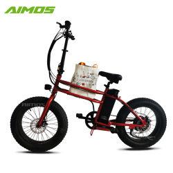 20 بوصة إطار العجلة سمين كهربائيّة درّاجة شاطئ يثنّي طرّاد [48ف] [500و] محرّك درّاجة سمين كهربائيّة