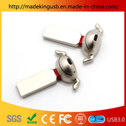 Novo Metal novidade criativa Dog Unidade Flash USB/cartão USB