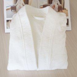 도매 아이를 위한 100%년 면 백색 벨루어 아이들 목욕 겉옷