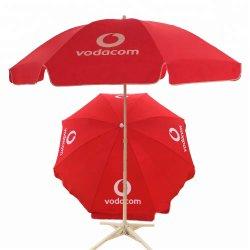 Progettare l'ombrello per il cliente di spiaggia promozionale dello schermo di Sun
