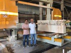 SHXJ1500는 다이아몬드 철사 톱을%s 가진 유형 CNC 돌 sawing 기계를 통합했다