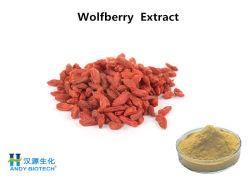 Wolfberry desecado natural en polvo Extracto de un 10% de polisacárido