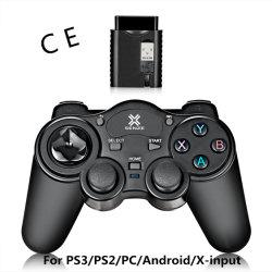 comando de jogos sem fio 5 em 1 para a PS2/PS3/PC/X-Input/Dispositivos Adroid