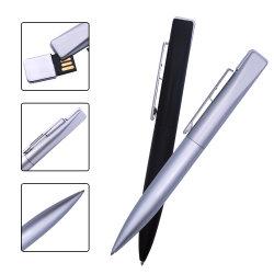 Memoria USB2.0 Stylo en métal Stick 64 GO 32 GO 16GB 8Go 4 Go de mémoire flash USB Lecteurs de plumes de bâtonnets (plus de 10pcs Logo gratuit)