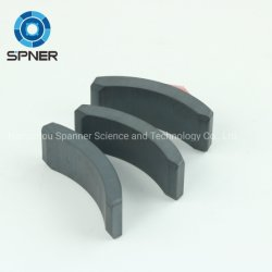 Alta Qualidade em forma de arco de alto desempenho de disco permanentes para micromotor de ferrite