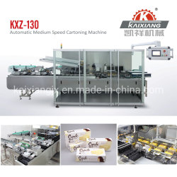 Medium Speed Food/Biscuit/Cookie/Candy/Snack/Pastry/Cake/Pizza Cartoning Carton Packing Box Packing Packing Cartoner Machine