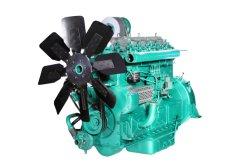 Motore diesel raffreddato ad acqua di prezzi di Schang-Hai dei motori professionali di buona qualità 6-Cylinder con il radiatore utilizzato per il gruppo elettrogeno diesel