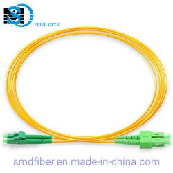 Câble de communication LC/APC-SC/APC Sm Dx cordon de raccordement à fibre optique pour FTTH