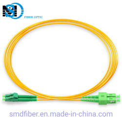 LC/APC-Sc/APC Sm Dx 광섬유 접속 코드