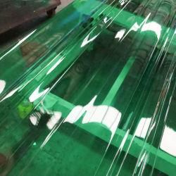 Водонепроницаемый прозрачный цвет зеленый пластиковый ПВХ плитки на крыше