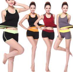 Printemps et été Nouveau réservoir coréen Shorts pantalons Seven-Minute Yoga costume avec les femmes Modell costume de Yoga