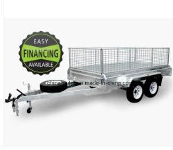 Novo 8X5 10X5 10X6 médios quente galvanizada caixa tandem /Carro /Utility /Trailer de Viagem