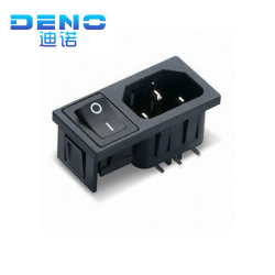 Tomada de alimentação de CA Universal Elétrico e Componente do Interruptor
