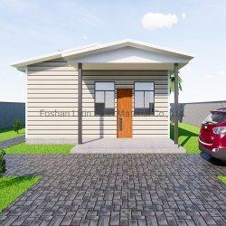 普及した鋼鉄プレハブの家のためのプレハブモジュラー住宅建設材料