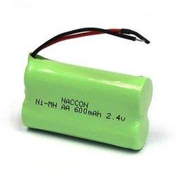 Kleine Batterie-Satz NiMH AA 600mAh 2.4V Ni-MH der Qualitäts-RC nachladbare Batterie