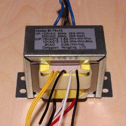 e-i 76電子変圧器の電源変圧器