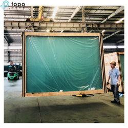 Wholese 19mm ultra clair faibles en fer plat de flottement de la feuille de verre architectural (UC-TP)