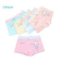 Les filles sous-vêtements de coton doux bébé Boxer Shorts Kids mémoires culotte (Pack de 5)