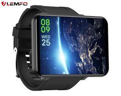 Lemfo Lemt 4G des Android-7.1 Bildschirmanzeige Telefon-Sport-Uhr-der UnterstützungsSIM der Karten-2.86 des Zoll-480*640 mit 5MP HD Kamera 3GB + 32GB Smartwatch grosse Batterie des Telefon-2700mAh