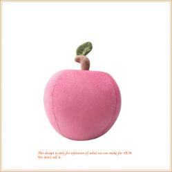 Het in het groot Stuk speelgoed van het Voedsel van het Comfort vulde het Roze Speelgoed van het Fruit van de Appel