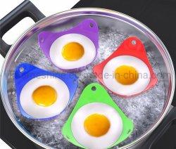 Cucina FDA grado caldaia per cottura all'uovo silicone uovo Poacher