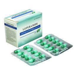 La Cápsula de 2mg de Clorhidrato de Loperamida medicina GMP