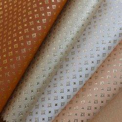 PU-synthetisches ledernes Futter-nichtgewebter Schutzträger, metallisches Futter-Leder