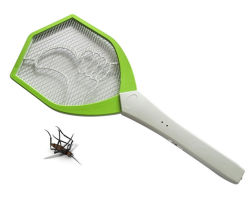 LED rechargeable Electric Fly Swatter Mosquito Raquette bug zapper d'insectes